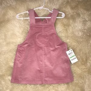Other - Pink Overall Skirt